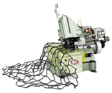 Light-Duty Netting & Rope Machine Model 860N by N-C Carpet Binding & Equipment Corporation Model 860N